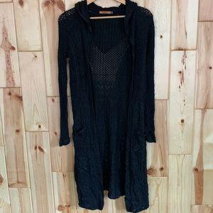 Belldini Women's Long Duster Sweater M